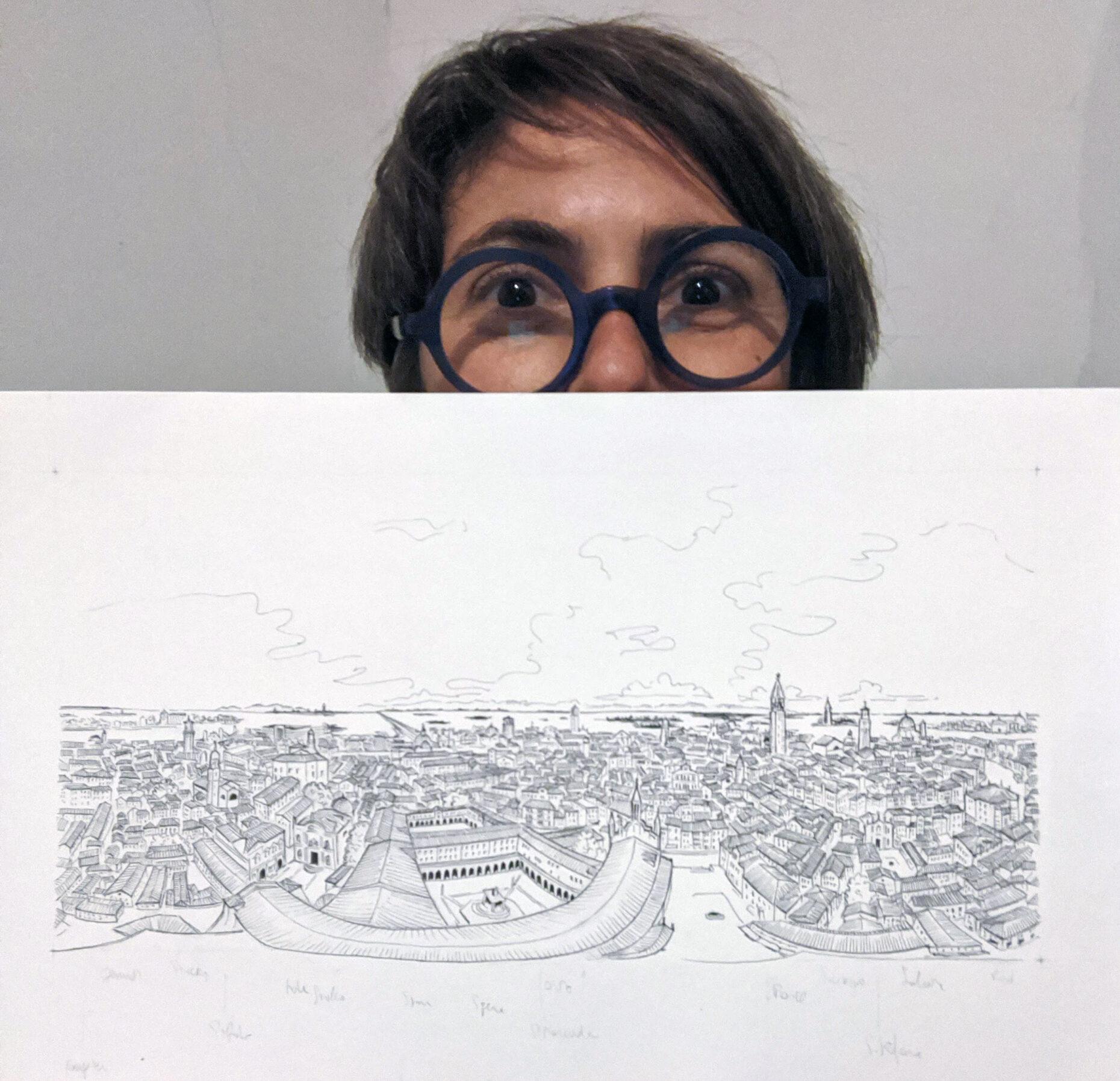 Chiara Masiero Sgrinzatto 360drawing Frari